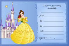Disney Princess Invitations | ... Photo Products with Personality: Free Disney Princess Invitations