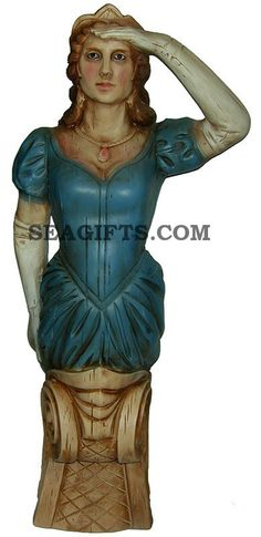 Nautical Lady Anne Ship Figurehead