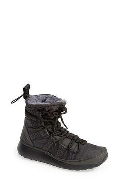 7be7a6b2642 Nike  Roshe Run  Sneaker Boot (Women) Black  Anthracite Size 11.5 M
