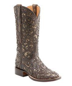 cf13ecdb92ae Espresso Sierra Leather Western Boot - Women