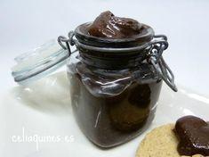 Crema sabor cacao… sin gluten, sin lácteos, sin azúcar y sin cacao!! – Celiaquines