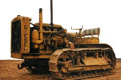 Caterpillar diesel sixty - Google Search Caterpillar Equipment, Cat Machines, Toys For Boys, Boy Toys, Crawler Tractor, Wine Glass Holder, Old Tractors, Camping Gifts, Vintage Farm