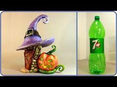 ❣DIY Halloween Fairy House Lamp Using a Plastic Bottle❣ - YouTube | всё в наших руках | Постила