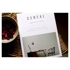 cereal mag   #cerealvolume9 #cerealmagazine #guidedbycereal #travelmagazine #slowlife #cerealmag