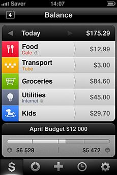 "Saver (iPhone, $2.99)""Saver for iPhone is beautiful expense tracker that is also extremely practical and natural in the way it deals with the various tasks it provides to the user. I say this rarely, but Saver probably has one of the nicest user interfaces of any iPhone app that I've used. "" - Macstories.com"