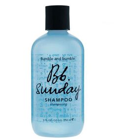 Sunday Shampoo, Bumble And Bumble