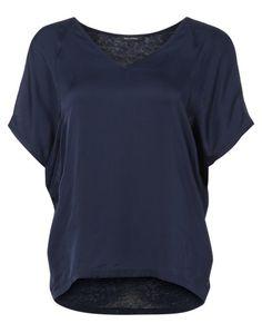 Marc O´Polo V-Shirt dunkelblau