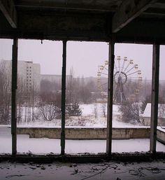 Pripyat, Ukraine, scariest places on earth, abandoned amusement park