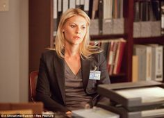 Dramatic flair: Claire won a Golden Globe for her portrayal of bipolar CIA analyst Carrie Mathison