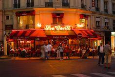 rue de Buci - café Le Conti - paris