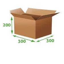 Frogpack - Kartonová krabice 3VVL, 300x300x200mm - Klopové krabice 3VVL - Kartonové krabice a zboží, Obalový materiál