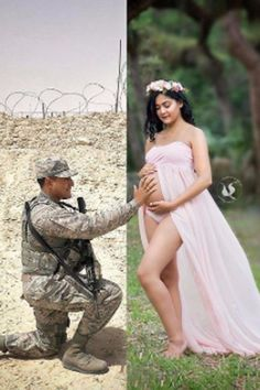 This Moms story in the picture touched my heart. While her Husband is on duty serving our country missing her pregnancy and will miss her labor. Great way to put this picture together The strength of WOMEN amazes me . Deployment Pregnancy, Military Pregnancy Announcement, Military Maternity Photos, Pregnancy Goals, Maternity Pictures, Pregnancy Photos, Maternity Shoots, Military Girlfriend, Military Love