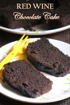 Super moist and decadent chocolate red wine cake which is a win win. Red Wine Chocolate Cake, Perfect Chocolate Cake, Decadent Chocolate, Beer Tasting Parties, Wine Parties, Wine Tasting, Wine Recipes, Baking Recipes, Just Desserts