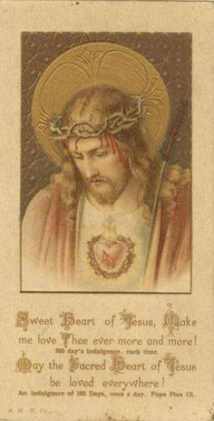 "catholicsoul: ""Prayer for Daily Neglects Eternal Father, I offer Thee the Sacred Heart of Jesus, with all its love, all its sufferings and all its merits. First: To expiate all the sins I have committed this day and during all my life."