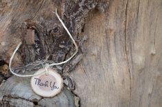 Wood gift tags wedding wood tags name tags by CrawfordCreekRustics