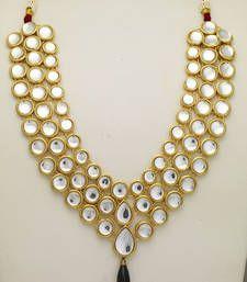 Buy KUNDAN JEWELLERY Necklace online