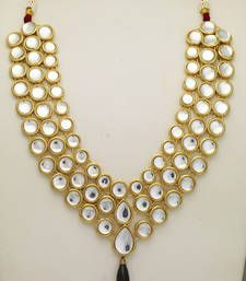 Buy KUNDAN JEWELLERY Necklace online