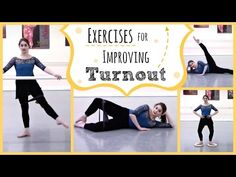 How to Improve Ballet Turnout. Correct turnout sets the stage for most of ballet's beautiful movement. But poor or incorrect turnout can limit your range of movement and lead to knee problems. Simply put turnout is the basis for the. Dance Tips, Dance Moves, Dance Videos, Dance Workouts, Ballet Body, Ballet Barre, City Ballet, Ballet Class, Dance Class
