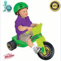 Toddler Outdoor Kids Ride Toy Tricycle Bike Child Baby Stroller Car Big Wheel  #Nickelodeon