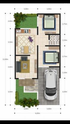 Home Design Layout Floor Plans Stairs 69 Ideas For 2019 Home Design Diy, Home Room Design, Small House Design, Home Design Plans, House Layout Plans, House Layouts, Minimalist House Design, Minimalist Home, 20x40 House Plans