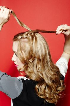 Easy, beautiful hair DIYs you can do with a curling iron