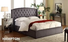 Hampton Fabric - Bed and Bed Head