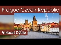29 Min Treadmill Virtual Scenery Prague Czech Republic with Techno Music Mix - La Vie Zine Virtual Travel, Virtual Tour, Virtual Field Trips, Prague Czech Republic, Techno Music, Vacation Trips, Vacation Travel, Walking Tour, Travel Destinations