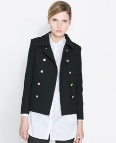 Image 2 of DOUBLE BREASTED BLAZER from Zara