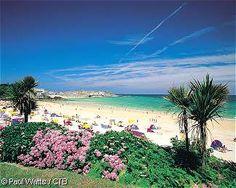 Porthminster Beach, St Ives, England