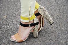 zara heel worn by   www.thestylebakery.com