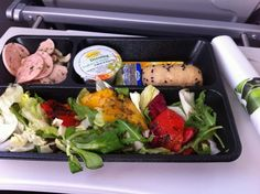Essen in der Lufthansa CityLine Business Class › WORLDTRAVLR