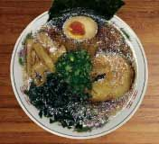 Benkei Ramen - Inside Ushiwakamaru on Houston. Who knew! Only open for lunch and 12:30-4AM ramen Tues-Fri + early Sunday dinner