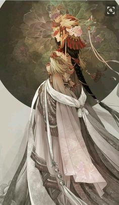 Estaba desbrigada, muy blanca cabello largo sujetado una linda trensa, Hiryuu al verla se acerca a ella
