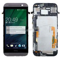 HTC One M8 Orjinal LCD Ekran + Dokunmatik + Ön Panel Gri -  - Price : TL289.90. Buy now at http://www.teleplus.com.tr/index.php/htc-one-m8-orjinal-lcd-ekran-dokunmatik-on-panel-gri.html