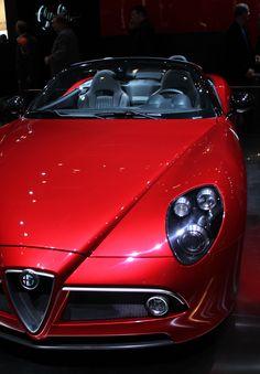 Alfa Roméo 8C Spyder