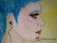 "COLECCIÓN ""INCOMUNICACIÓN""   Lola Kabuki  #love #art #watercolor #paintings #illustration"