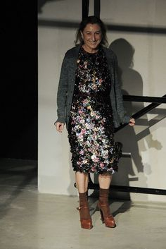 Prada Fall 2009 Ready-to-Wear Fashion Show - Miuccia Prada