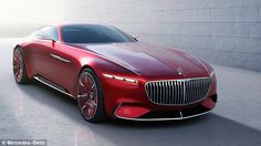 The future of cars for the one per cent is a sleek electric-powered timeless classic you'll hand down to your children - the Vision Mercedes-Maybach 6, according to the designer
