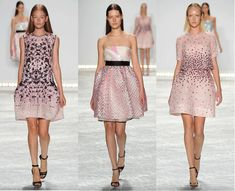 Monique Lhuillier Spring 2015 Runway Collection