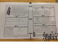 Comprehension Notebook for 1st Grade...Must have for every 1st grade classroom