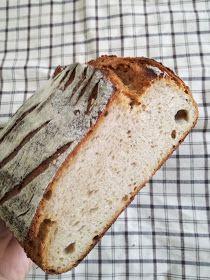 Truhlice: Podmáslový kváskový chléb - recept Banana Bread, Desserts, Food, Tailgate Desserts, Deserts, Essen, Postres, Meals, Dessert