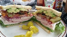Got to try my favorite sandwich again after coming back on my free flight with Asiana Airlines! Club Sandwich at Rose Bakery Cafe in Corona del Mar, California