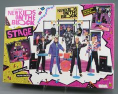New Kids on the Block - I had the all the dolls and the stage! Plus the sheets, sleeping bag, overnight bag, cards, pins, posters, you name it I had it!