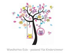 Wandtattoo Kinderzimmer Eulen