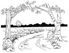 How to Draw a Rural Lane in 5 Steps. When learning to paint, it would be helpful to have some idea of drawing.