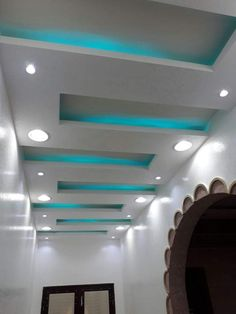 Plaster Ceiling Design, Gypsum Ceiling Design, House Ceiling Design, Ceiling Design Living Room, Bedroom False Ceiling Design, False Ceiling Living Room, Tv Wall Design, Foyer Design, Tv Wall Decor