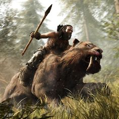Watch the all-new 101 trailer for a gameplay overview of Far Cry Primal in 5 minutes. Discover all you need to know about Far Cry Primal's weapons, powerful Beast Master abilities, and vicious huma… Far Cry Primal, Character Concept, Character Art, Concept Art, Character Design, Frank Frazetta, Ewok, Barbarian, Fantasy Artwork