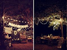 Our Love In October: wedding love: a rustic forest wedding