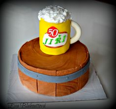 Cake with Beer