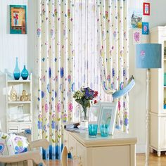 Curtains and drapes - modern ideas in your Home Curtains, Kids Curtains, Diy Furniture Redo, Painted Furniture, Sewing Clothes Women, Furniture Arrangement, Decorating Your Home, Curtain Ideas, Modern